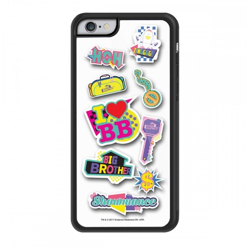 Big Brother 80s Stickers iPhone 6 Case Image