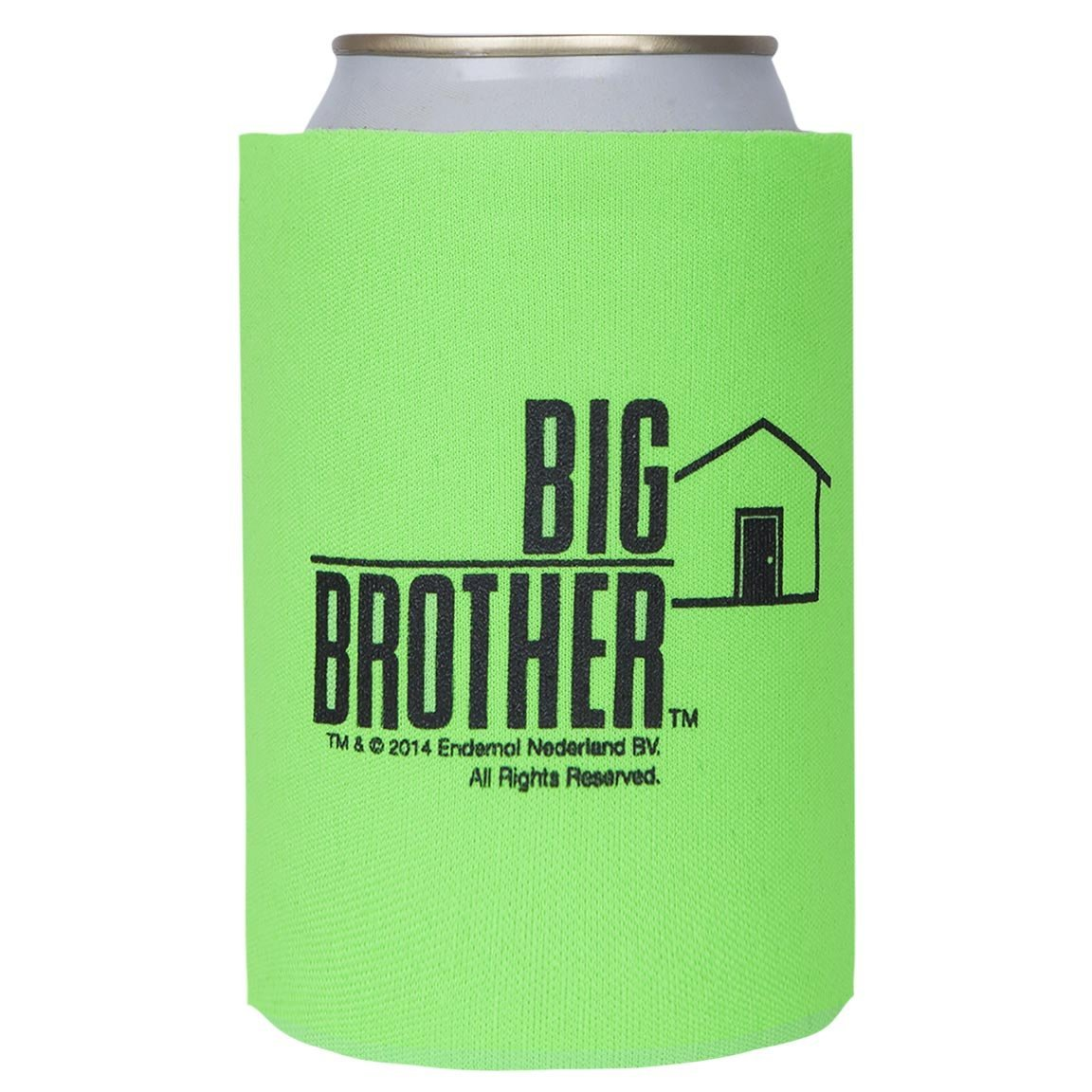 Big Brother Collapsible Can Cooler Green Image