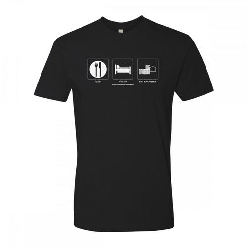 Big Brother Eat Sleep Big Brother T-shirt Image