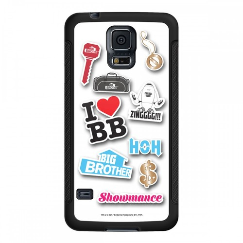 Big Brother Pop Stickers Galaxy 5 Phone Case Image