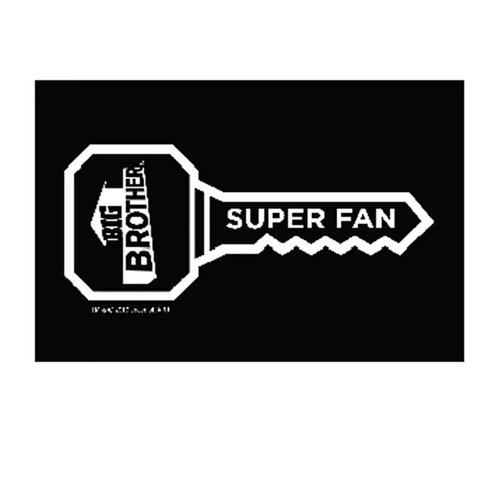 Big Brother Superfan Car Decal Image